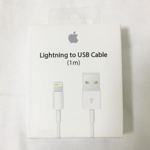 Cabo lightning para iPhone e iPad
