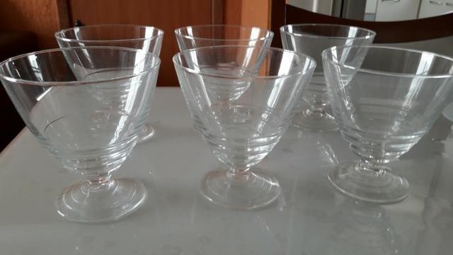 Conjunto de Taças para sobremesa - 06 peças - Produto Novo
