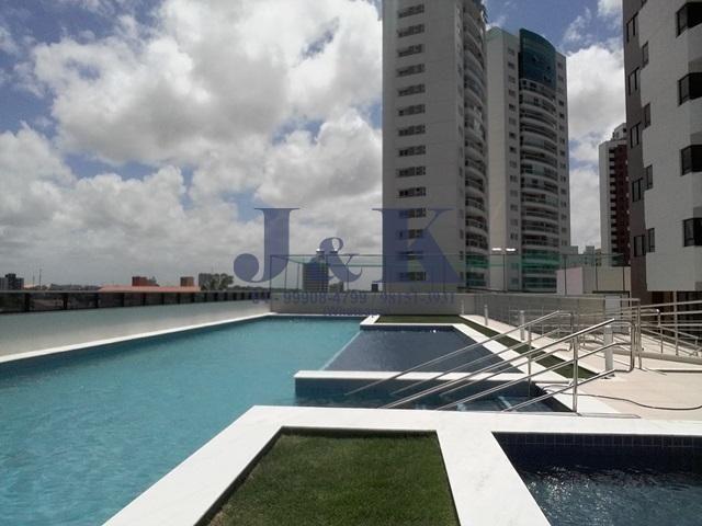 Excelente apartamento em Lagoa Nova - 104m² - 2 vagas soltas - Novíssimo!