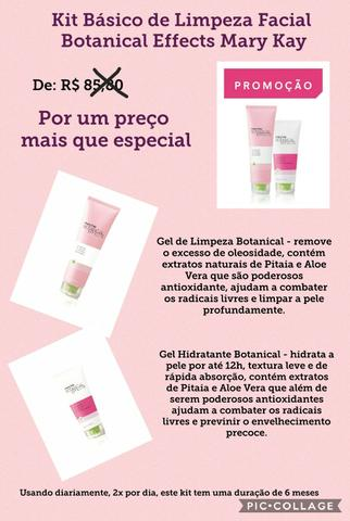 Kit Básico Botanical Mary Kay