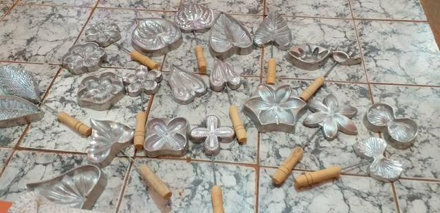 11 frisadores grande de alumínio para E.V.A 500$