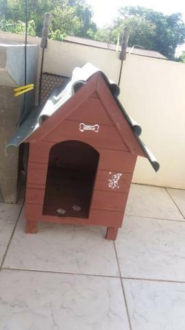 Casinha para cachorro até porte médio