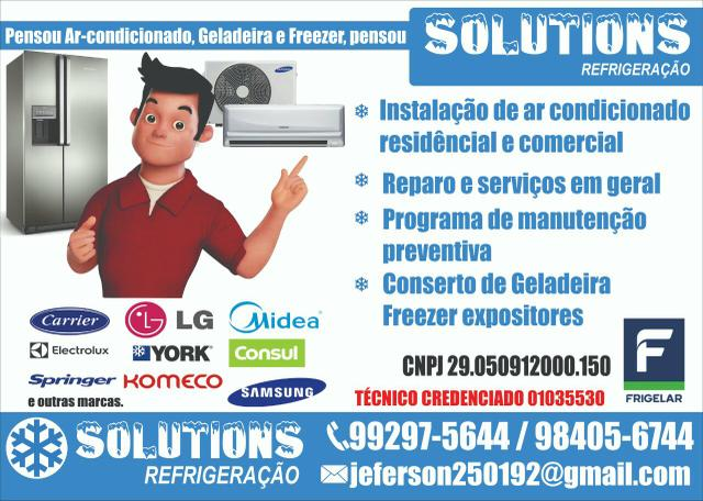 Serviços em geladeira freezer expositores ar condicionado rede elétrica