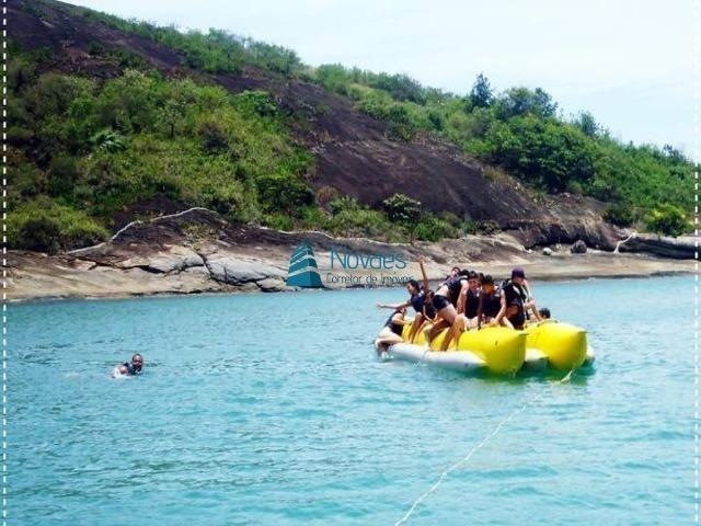 Apartamento Temporada Ed. Frente para o Mar Praia do Morro Guarapari até 10 Pessoas - Foto 2