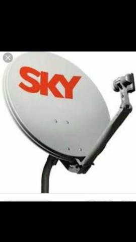 Vendo antena da sky