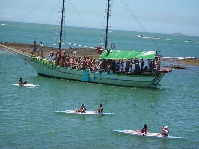 Apartamento Temporada Ed. Frente para o Mar Praia do Morro Guarapari até 10 Pessoas - Foto 16