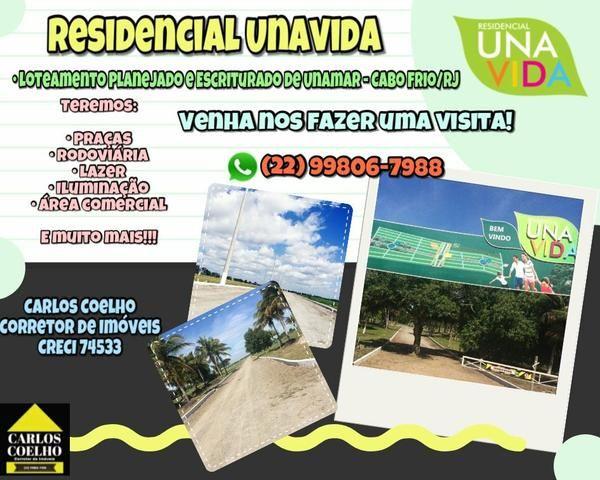 Carlos Coelho Vende Residencial Unavida o Loteamento dos seus sonhos!! Parc.de 364 mensais