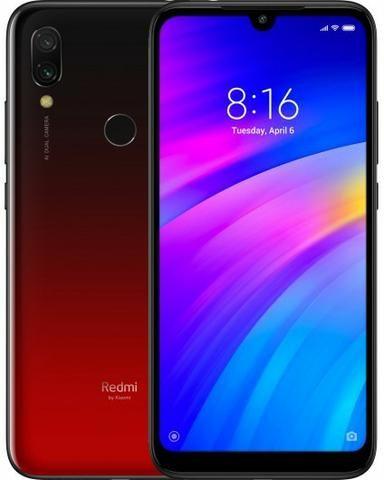Celular Xiaomi Redmi 7 64GB Vermelho