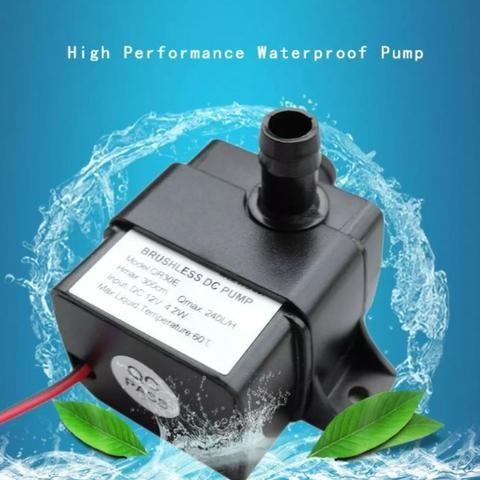 COD-CP166 Mini Bomba De Água Submersível Prova D'água 12vdc 4w 240l/h Arduino Automação