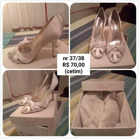 06b45a52b Sapato Branco de noiva / Debutante - Roupas e calçados - Jardim Dos ...