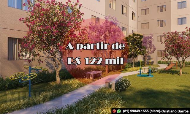 CB Venha para Tenda em Barra de Jangada, Resid Praia Bella ent facilitada em até 60x