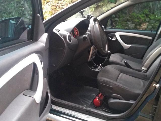 Sandero step way vendo/ troco por sedan/Civic/4008/fluence/corolla - Foto 14