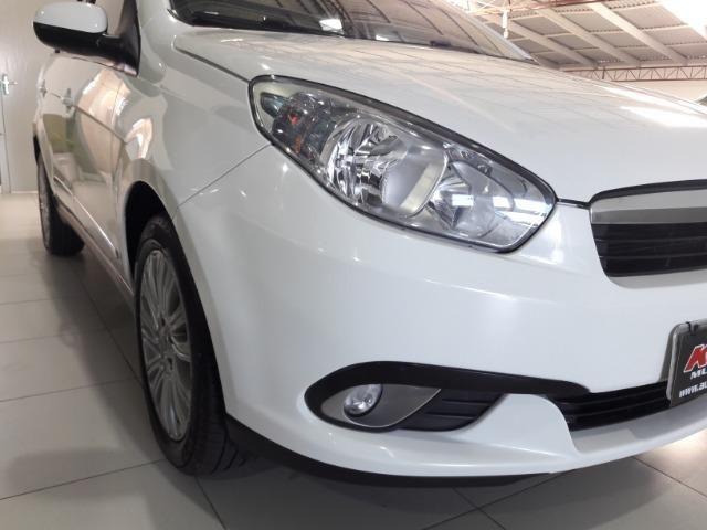 Grand siena essence 1.6 ano 2015 placa i completo roda de liga som usb air bag abs - Foto 18