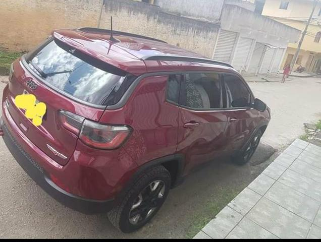 Jeep compass longitude trailhaw