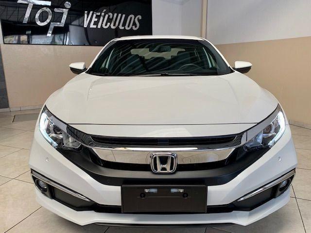 Honda Civic EXL 2.0 * Igual Zero Km * 4.000 Kms Sem Um Detalhe, Branco Perolizado, 2020 - Foto 2