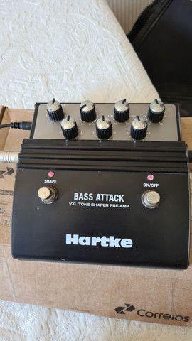 Pedal Hartke VXL Bass Attack para Contra Baixo - Foto 2