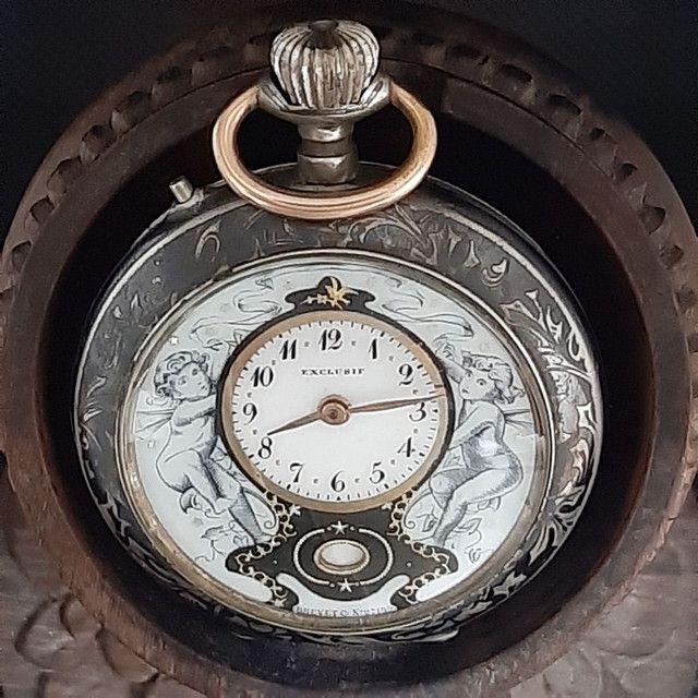 Relógio de Bolso Exclusif Brevet - Foto 2