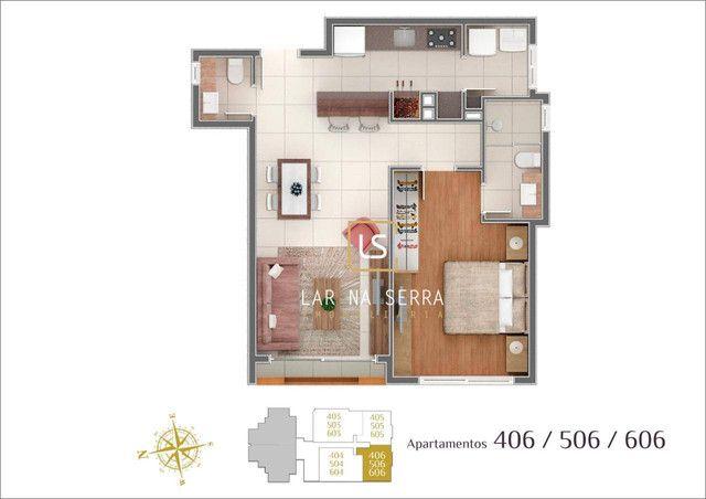 Apartamento à venda, 107 m² por R$ 728.260,47 - Lagos Do Bosque - Gramado/RS - Foto 20