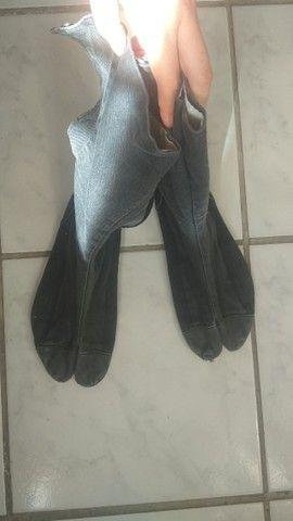 """Calçada """"Ninja shoes"""" da India, bem usado, pe 27 cm"""