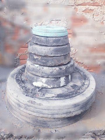 anilhas de concreto 50 reais