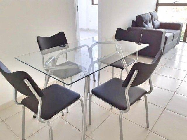 Apto com mobília na Pajuçara, com 2 quartos, já incluso cond, iptu, água e gás - Foto 3