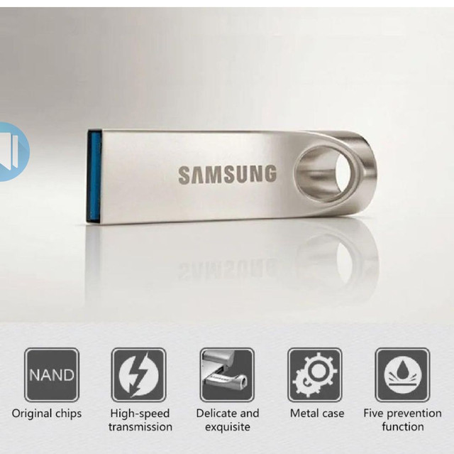 Pen Drive Samsung USB 3.0 de com 2TB e Alta Velocidade de Leitura .Pendrive - Foto 2