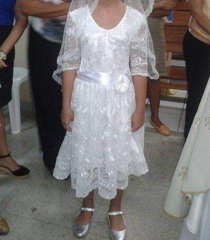 Vestido para Batizado ou Primeira Eucaristia