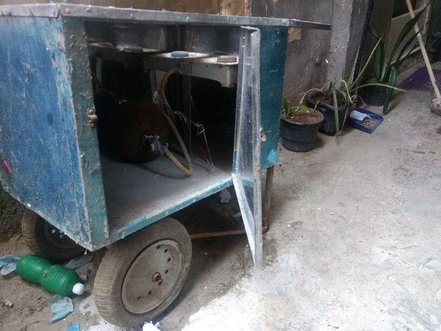 Carro de cachorro quente - Foto 4