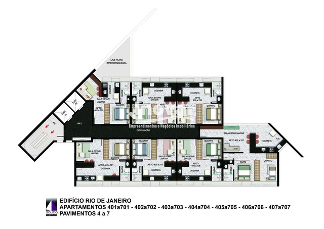 Apartamento à venda, 1 quarto, 1 suíte, 1 vaga, Centro - Belo Horizonte/MG - Foto 9