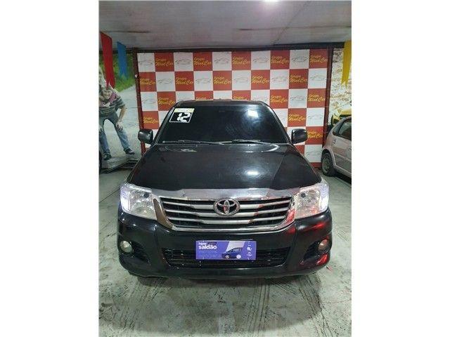 Toyota Hilux 2012 2.7 sr 4x2 cd 16v flex 4p automático - Foto 2