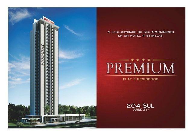 Flat de 37 m² na 204 Sul - Premum Flat e Residence - Hplus Hotelaria