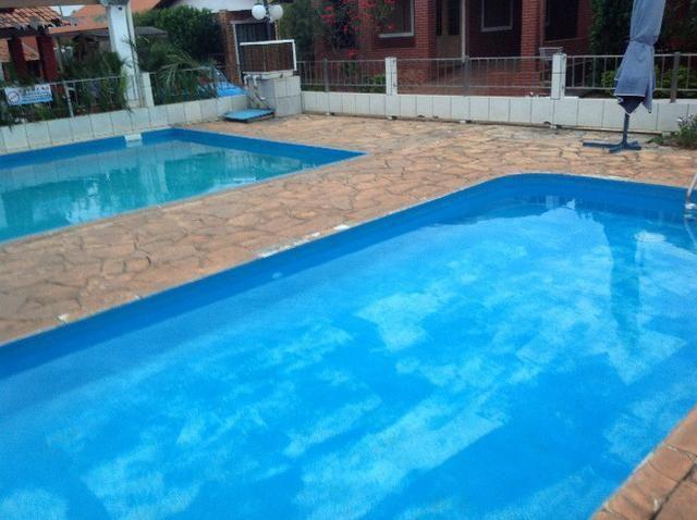 Chale novo,bem arejado,4 dormitórios,3 banheiros,piscina,sauna salao de jogos