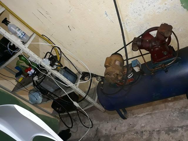 Vendo máquinas de lava rápido compressor, gong,aspirador, baldes - Foto 2