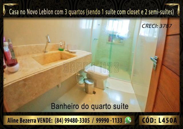 Ampla casa no Novo Leblon com 3 quartos, já com móveis projetados - Foto 5