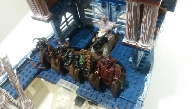 Navio Mega Bloks Dragoon da Neve Ice Fire - Foto 4