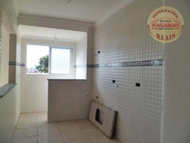 Apartamento com 1 dormitório à venda, 33 m² por R$ 187.624 - Tupi - Praia Grande/SP - Foto 3