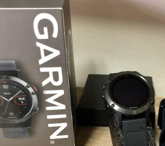 Relógio Garmin Fenix 5 Sapphire - Preto - Foto 4