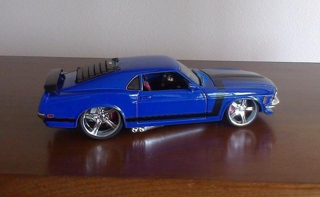 Mustang Boss 302 1970 Maisto Pro Rodz 1/24