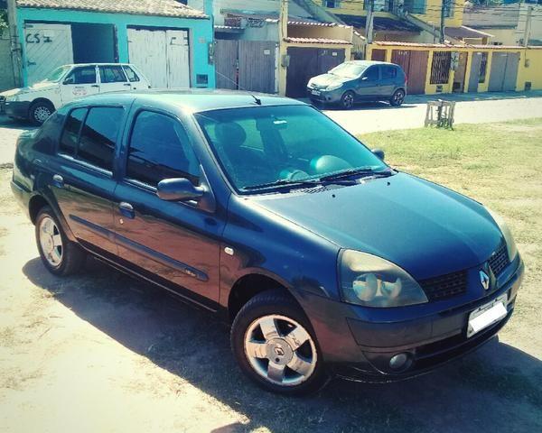 Clio Sedan 2004 1.6 16V Completo - VENDO OU TROCO POR CELTA OU PALIO