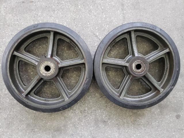 "Roda 12"" x 3"" para 900 kg - Foto 2"