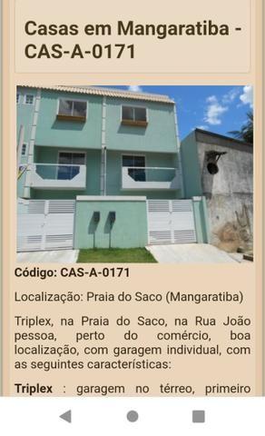 Triplex com 2 suítes na Praia do saco, Mangaratiba
