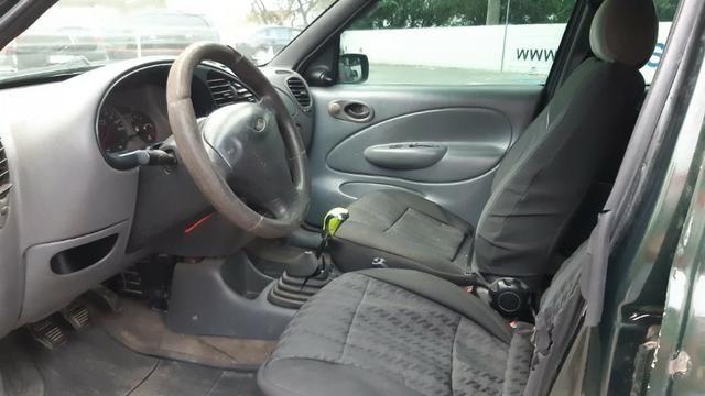 Fiesta GL Class 1.0 5P 2001 Verde - Foto 4