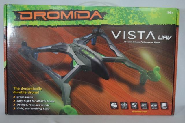 Quadricóptero Dromida Vista Uav Rtf Drone Dide 03rr Vermelho - Foto 5