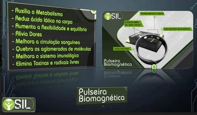 Pulseira magnetica sil - Foto 3