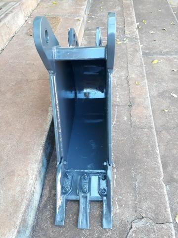 "Caçamba de Retro Escavadeira Case 580N 300mm, 12"" - Foto 3"