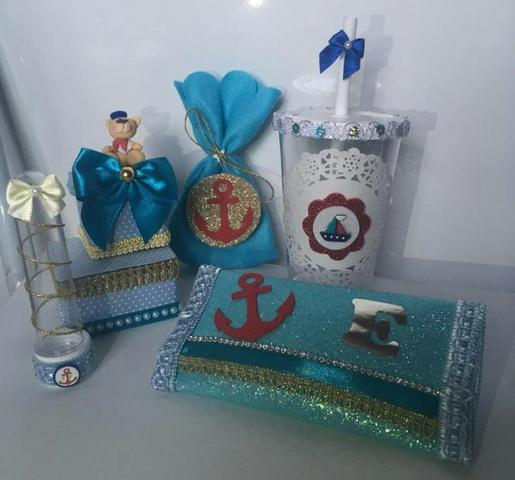 Kit lembrançinha marinheiro