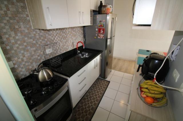 Capão Raso 3 dormitórios churrasqueira a carvão em condomínio Club - Foto 5