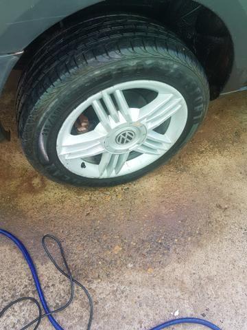 Jogo de rodão aro 16 com pneus