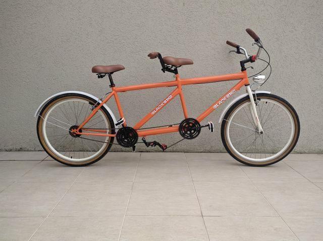 Bike Dupla totalmente retrô