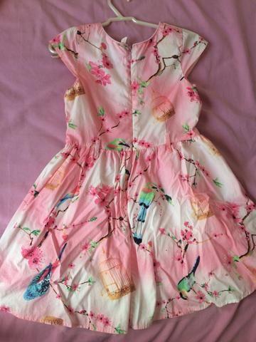 Vestido floral tamanho 4/5 - Foto 2